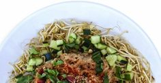 Our Superfood Pad Thai Recipe from our new book on Kris Carr's website! If you like it, you'll love the new book, which hits stores in a week! Pre-order now and it will arrive on Plant Based Diet, Plant Based Recipes, Raw Food Recipes, Lunch Recipes, Vegetarian Recipes, Cooking Recipes, Healthy Recipes, Clean Eating, Healthy Eating