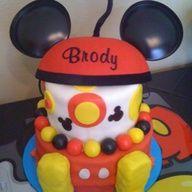 mickey party cake