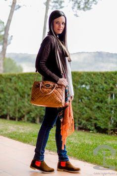 Blogger con Neon Boots