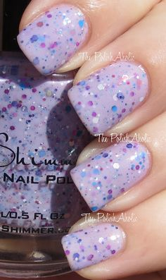 """The PolishAholic: KBShimmer Spring 2013 Collection Swatches """"IRIS MY CASE"""""""