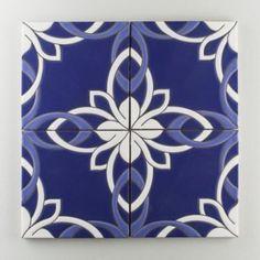 Resultado de imagen para mosaicos con cuerda seca