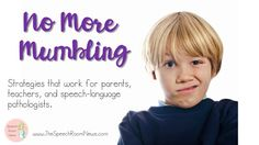 No More Mumbling: How to improve mumbling.