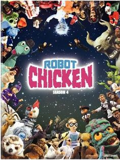 I just started watching Robot Chicken and LOVE it! There are all these really short scenes with popular toys, claymation, puppets, dolls, animation that reference popular culture but in such an original, funny way. It is a great show! (Love all the references to 80's toys and shows as well as comic book characters, Star Wars, etc. Love it!)
