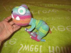 T-rex T Rex, Dinosaur Stuffed Animal, Crochet Hats, Beanie, Toys, Handmade, Animals, Animales, Hand Made