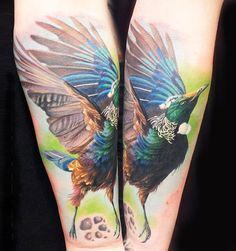 Realistic Animal Tattoo by Steve Butcher | Tattoo No. 13025