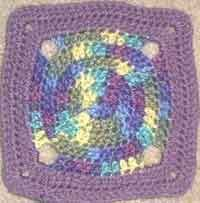 7 inch Circle of Friends Square