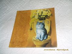 Decoupage Plates, Coasters, Blog, Painting, Art, Painting Art, Blogging, Paintings, Kunst