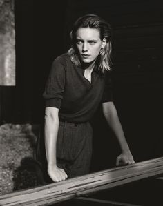 Erika Linder in Hastings by Alasdair McLellan for Margaret Howell in Port Mgazine Margaret Howell, Editorial Photography, Portrait Photography, Photography Magazine, Erika Linder, Below Her Mouth, British Clothing Brands, Photo Exhibit, Androgynous Models