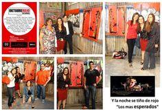 LA ARTEFAMILY!!! En la Muestra OKTUBRE ROJO de ARTEME, en el Gato Viejo de Regazzoni