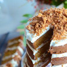 Pumpkin Tiramisu Layer Cake Recipe