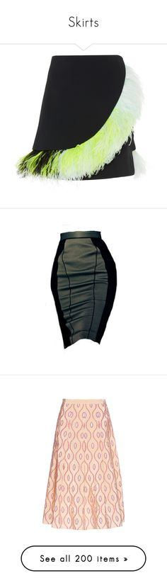 """""""Skirts"""" by bliznec-anna ❤ liked on Polyvore featuring skirts, mini skirts, black, asymmetrical skirt, feather skirt, david koma, feather mini skirt, mini skirt, dolls and bottoms"""
