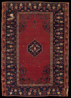 Double Niche Ushak rug, Rippon Boswell May 2011, Lot 237 Origin: West Anatolia Dimensions: 143 x 102 cm Age: 16th century Literature: ELLIS, CHARLES GRANT, Oriental Carpets in the Philadelphia Museum of Art. Philadelphia 1988, no. 28