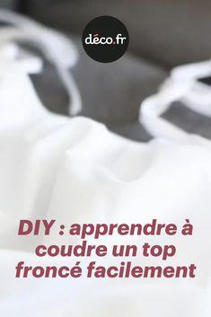 Charlotte de l'Atelier Charlotte Auzou va vous apprendre à réaliser un top froncé. Il s'agit d'un modèle évasé, très facile à coudre pour les débutantes. Grâce à cette vidéo, vous allez également pouvoir apprendre à faire des des fronces et poser du biais sur un tissu !