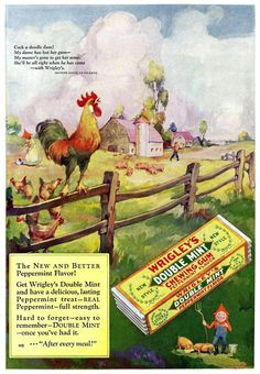 Wrigley's gum, 1927