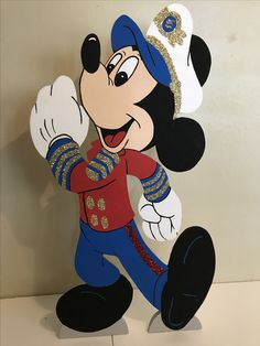 Mickey Mouse captain sailor nautical 4ft foam character