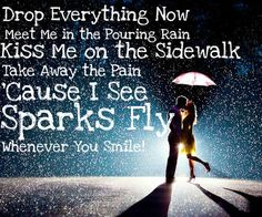 Sparks Fly by Taylor Swift, one of my fav songs