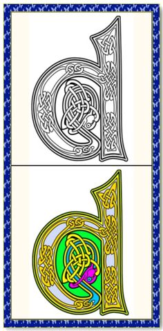 Celtic Coloring Book 26 Printable Coloring Pages