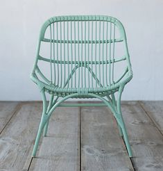 All Weather Wicker Open Weave Side Chair in Outdoor Living Outdoor Seating at Terrain Outdoor Wicker Chairs, Wicker Sofa, Outdoor Seating, Rattan, Outdoor Decor, Outdoor Cushions, Outdoor Rooms, Wood Patio Furniture, Outdoor Living Furniture
