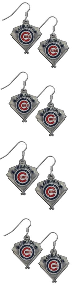 Chicago Cubs Classic Dangle Earrings! Click The Image To Buy It Now or Tag Someone You Want To Buy This For. #ChicagoCubs