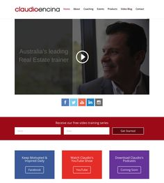 Claudio Encina is a real estate trainer that educates agencies how to improve their turnover.
