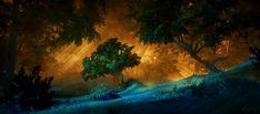 ArtStation - Enchanted Forest, Alejandro Kühne