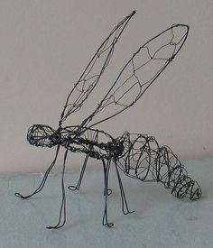 wire insect sculptures - Google Search