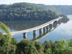 Ponte sobre o Rio Uruguai - Divisa do Rio Grande do Sul com Santa Catarina