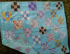 possible quilt pattern for baby girl