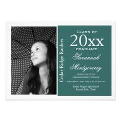 Photo High School Graduation Announcement graduation ideas