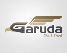 Garuda Tour - Logo by Indra Permana, via Behance