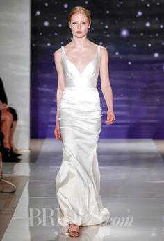 Brides: Reem Acra Wedding Dresses Spring 2016 Bridal Runway Shows Brides.com | Wedding Dresses Style