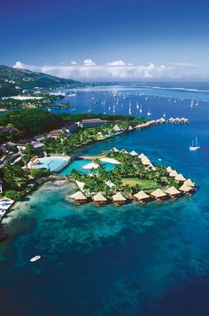 Tahiti luxury resort, Tahiti resort, Tahiti InterContinental Resort
