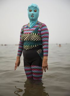 """Face-kini"" by Kevin Frayer"