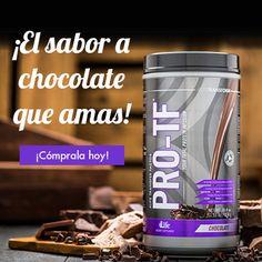 PRO-TF ahora con nuevo sabor a chocolate! Cómpralo hoy!