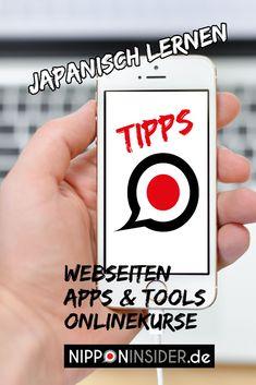 Online Japanisch lernen. Hier die ultimative Liste mit Webseiten, nützlichen Apps, Tools und Online-Kursen  #japanisch #japanischlernen #japanischtipps