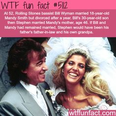 Rolling Stones bassist Bill Wyman - WTF fun facts