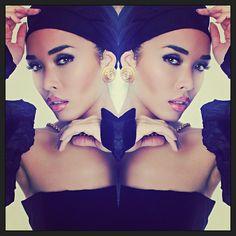 #Photo by @tajjisharp #MU by @msloveymua Styled by @celebswan Wearing #Vintage #Chanel from @vintagebymisty