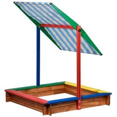 Sandkasten mit Sonnenschutz kaufen bei OBI