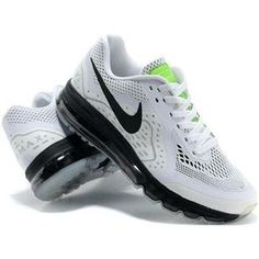www.asneakers4u.com/ Wholesale Nike Air Max 2014 Mens Shoes Black White Size40 45QPX