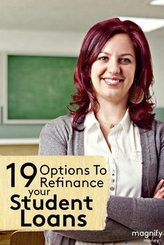 Are you tired of paying a high interest rate on your student loan debt? Are you looking for ways to refinance student loans at a lower interest rate, but don't know where to turn? http://www.magnifymoney.com/blog/college-students-and-recent-grads/refinancing-a-student-loan1091646352 student loan debt student loan debt payoff #debt #studentloan #studentloansandcollegegraduation