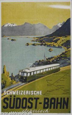 Schweizerische Südostbahn elektrisch