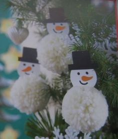 Winter Activities For Kids, Winter Crafts For Kids, Winter Kids, 4 Kids, Snowman, Projects To Try, Advent, Christmas Ornaments, Holiday Decor