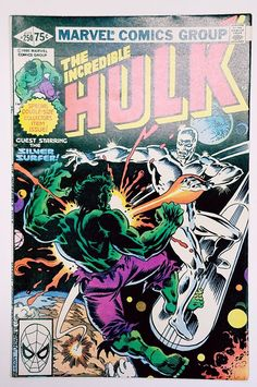 """The Incredible Hulk #250 (Marvel 1980) """"Monster!"""" Silver Surfer, Collective Man"""