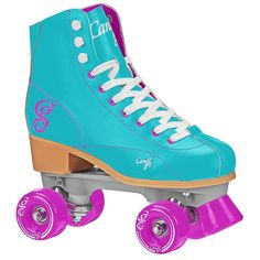 Get started skating in style with these Roller Derby Candi Girl Sabina quad skates. Featuring a trendsetting look, these skates are perfect for zooming around the rink or sidewalk. Outdoor Roller Skates, Roller Derby Skates, Quad Skates, Roller Skating, Brian Atwood, Platform Pumps, Unisex, Heels, Boots