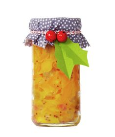 Homemade Mango Chutney:  sweet and tangy mango chutney works well with chicken and seafood and keeps for up to 2 weeks in the refrigerator. (see recipe)