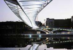 Campo Volantín Footbridge / Bilbao (Gallery) - Santiago Calatrava – Architects & Engineers