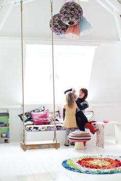 SWING IN KIDS ROOM | Mommo Design