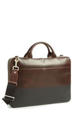 6a1b2b04ed Jack Spade  Slim  Briefcase available at  Nordstrom Leather Laptop Bag