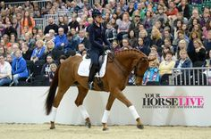 Golden Girl Charlotte Dujardin shows off the skills that gained her Gold medal status. Don't miss her performance at Your Horse Live (Nov 12 - 13)
