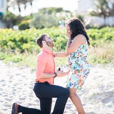 This Man Turned His Girlfriend's Maternity Shoot Into A Surprise Proposal